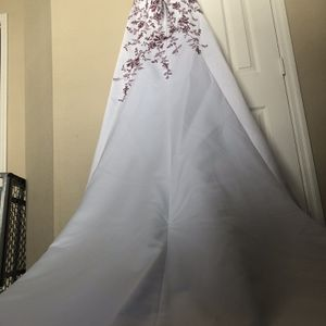 Red Embroidered Wedding Dress for Sale in St. Petersburg, FL