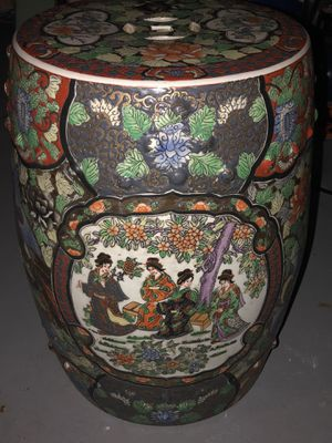 Chinese Ceramic End Table for Sale in Delray Beach, FL