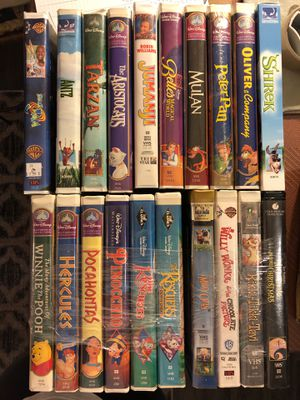 $3 each or $25 for 11 - VHS classic Disney/family-friendly VCR cassette tapes for Sale in Scottsdale, AZ