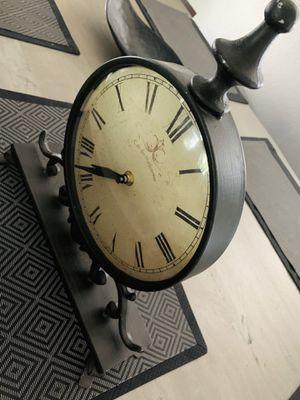 Brown Metal Antique Roman Numeric clock for Sale in Denver, CO