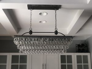 Delicate Crystal Chandelier for Sale in Columbus, OH