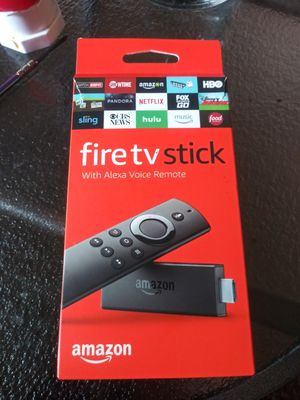 Amazon Fire TV Stick - Movies, TV Shows & Live TV in HD for Sale in BETHEL, WA