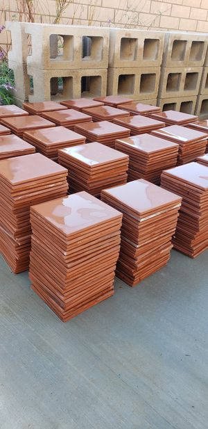 ***MUST GO TODAY *** 595 pieces / 150ft² of beautiful Red 6in X 6in Quarry wall and floor tiles for Sale in Hacienda Heights, CA