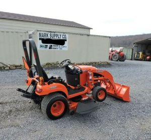 2012 Kubota BX1860 Sub Compact Tractor Loader Belly Mower 4X4 3 Point Hitch PTO! for Sale in Oakland, CA