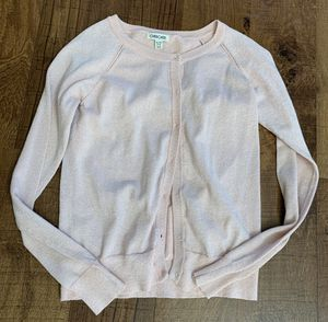 Like new girls size 14/16 shimmery cardigan for Sale in Plano, TX