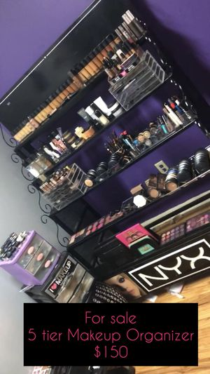 5 Tier Makeup Organizer for Sale in Englewood, NJ