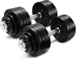 Yes4All 105 lb Adjustable Dumbbell Weight Set for Sale in Atlanta, GA