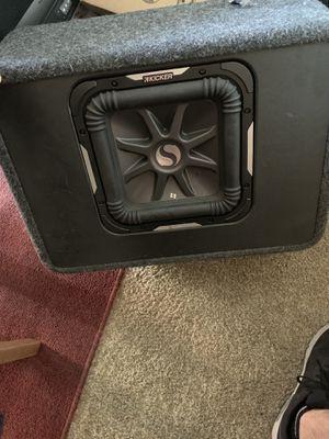 "(2) 10"" Subwoofers and Amplifier Set for Sale in Phoenix, AZ"