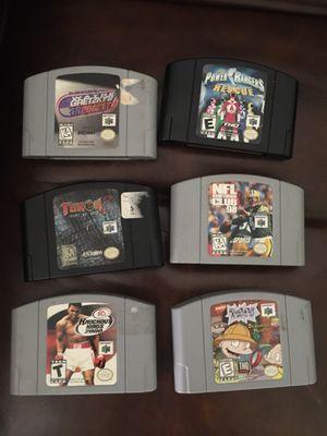 Nintendo 64 games for sale for Sale in Lake Stevens, WA
