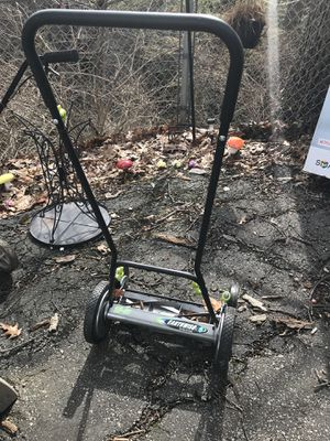 Lawn mower (Barely used + stored indoors) for Sale in Cleveland, OH