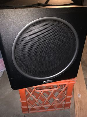 Polk Audio Subwoofer psw110 for Sale in Runnemede, NJ