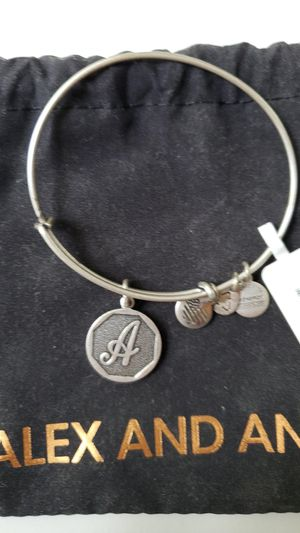"""Alex and Ani Initial """"A"""" Pendant Bracelet for Sale in Sterling, VA"""