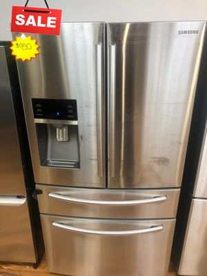 CONTACT TODAY! Refrigerator Fridge Samsung 4-Door #1620 for Sale in Greenwood, IN