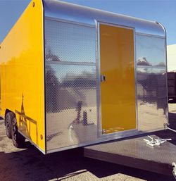 8.5x14x7 ENCLOSED VENDING CARGO CONCESSION FOOD TRAILER for Sale in Los Angeles,  CA