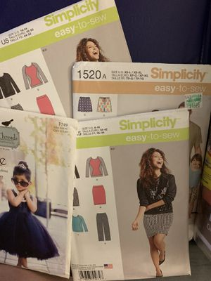 34 sewing patterns. for Sale in Oakley, CA