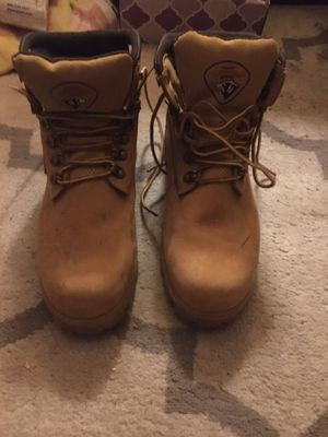 VIRTUALLY BRAND NEW HERMAN SURVIVOR STEEL TOE WORK BOOTS for Sale in Naugatuck, CT