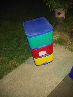 Plastic drawers for Sale in Hilliard, OH