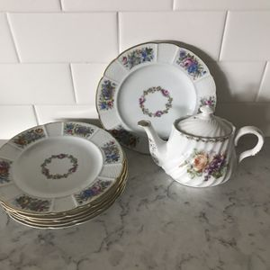 Rosenthal 1800s antique China tea set stamped Bavaria for Sale in San Diego, CA