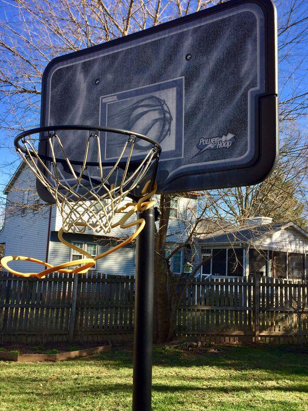 Basketball Hoop with Ball Return