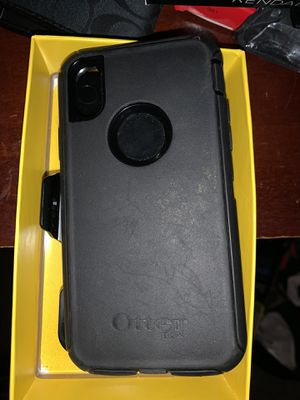 iPhone X otterbox for Sale in Grand Terrace, CA