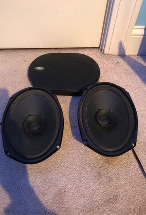 car audio speakers 100w max for Sale in Westwood, MA
