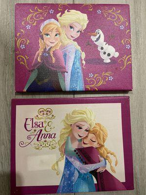 Elsa & Anna picture frames for Sale in San Antonio, TX