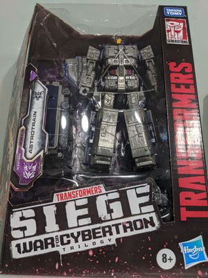 Transformers: SIEGE Astrotrain. WAR FOR CYBERTRON for Sale in Hawaiian Gardens, CA