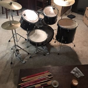 PDP Drumset and Drumsticks for Sale in Tustin, CA