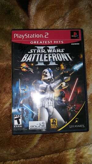 Star Wars Battlefront 2 PS2 for Sale in Cary, NC
