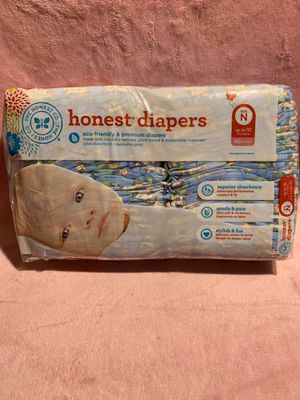 Honest newborn diapers for Sale in Lynwood, CA