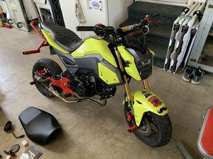2018 Honda grom stunt 125cc mini bike for Sale in Lakeside, CA