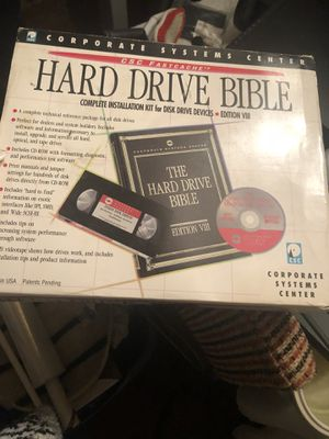 Hard drive bible cassette and disc for Sale in Fort Washington, MD