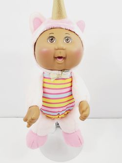 "Cabbage Patch Kids 2015 Black African American doll Cpk 9.5"" Unicorn Costume for Sale in Queens,  NY"
