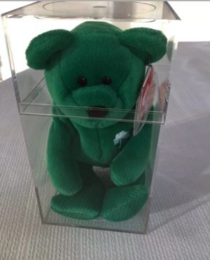 Ty Erin the Bear Green Beanie Baby 1997 P.E. Pellets. for Sale in Pleasant Grove, UT