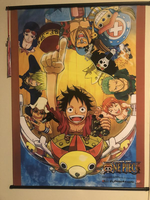 Anime One Piece Poster Scrolls