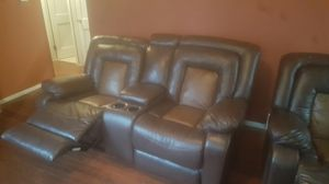 Recling couch and chair for Sale in Cleveland, OH