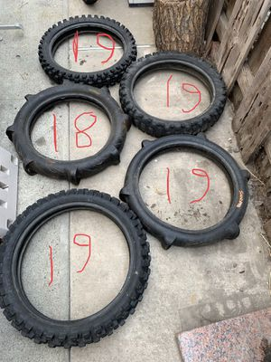Dirt bike tires for Sale in Mission Viejo, CA