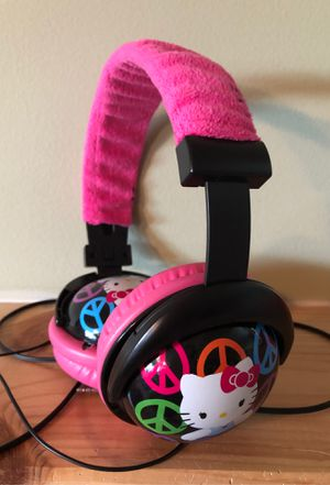Hello kitty head phones for Sale in Oak Forest, IL