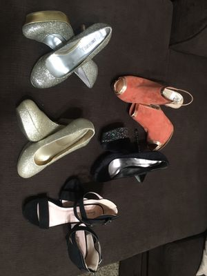 Shoes & boots are a variety of sizes ranging between 9, 9.5, & 10. Prices are between $5-$20 for shoes and $20-$30 for boots. Private message me fo for Sale in Paso Robles, CA