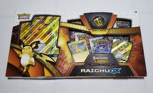 Pokémon Shining Legends Special Collection Raichu GX Trading Card Game New for Sale in Huntington Park, CA