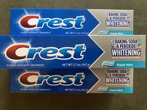 7 Crest Toothpaste- 5.7oz each for Sale in Harrisburg, PA