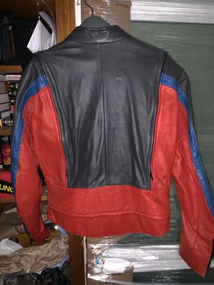 Leather motorcycle jacket for Sale in Garland, TX