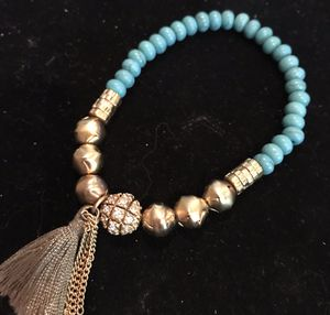 Turquoise and Gold bracelet for Sale in Silver Spring, MD