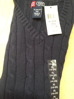 Boys XL Navy Chaps Sweater Vest (Brand New) for Sale in Kennesaw, GA