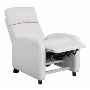 Push back recliner white new for Sale in Hialeah, FL