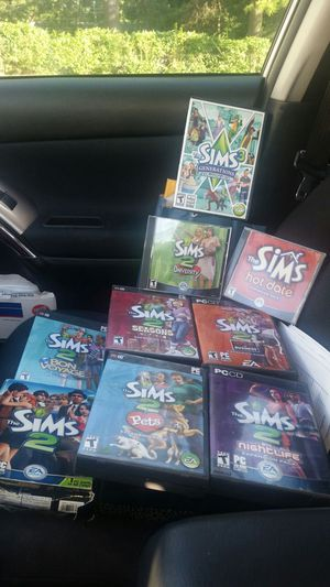 Sims games $10 each for Sale in Centreville, VA