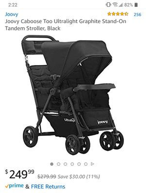 Double Stroller for Sale in Richardson, TX