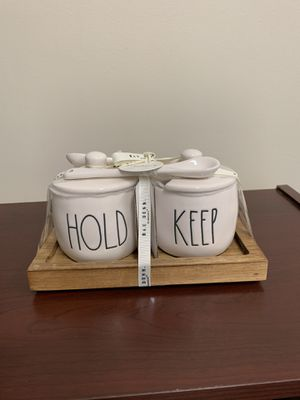 Rae Dunn Hold Keep Jars for Sale in York, PA