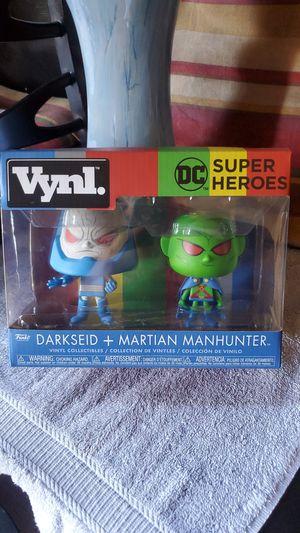 Funko vynl Darkseid + Martian man hunter for Sale in Los Angeles, CA