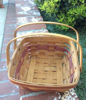 Vintage Longaberger Basket December 1993 for Sale in Placentia, CA